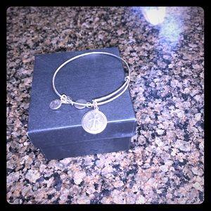 Alex and Ani Armenian cross bracelet